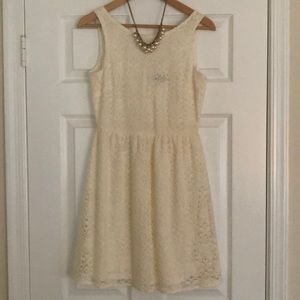 Gorgeous floral lace dress from The Limited!